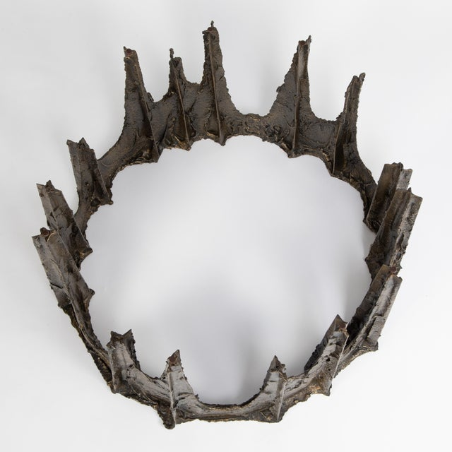 Brutalist Paul Evans Sculpted Bronze Stalagmite Coffee Table, 1969 For Sale - Image 3 of 13