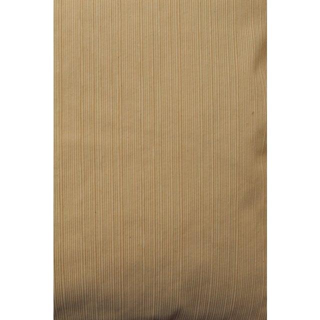late 20th c. pair of raw silk pillows