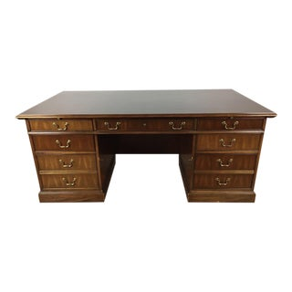 National Mount Airy Wood Partner Desk