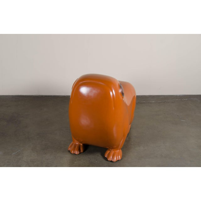 Contemporary Frog Seat - Mila Lacquer by Robert Kuo For Sale - Image 3 of 8
