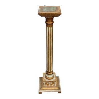 Early 21st Century Vintage Italian Venetian Pedestal For Sale