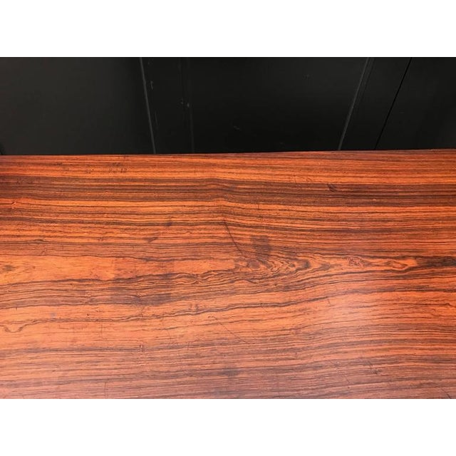 Early Ole Wanscher Rosewood Server Table Danish A. J. Iversen - Image 6 of 8