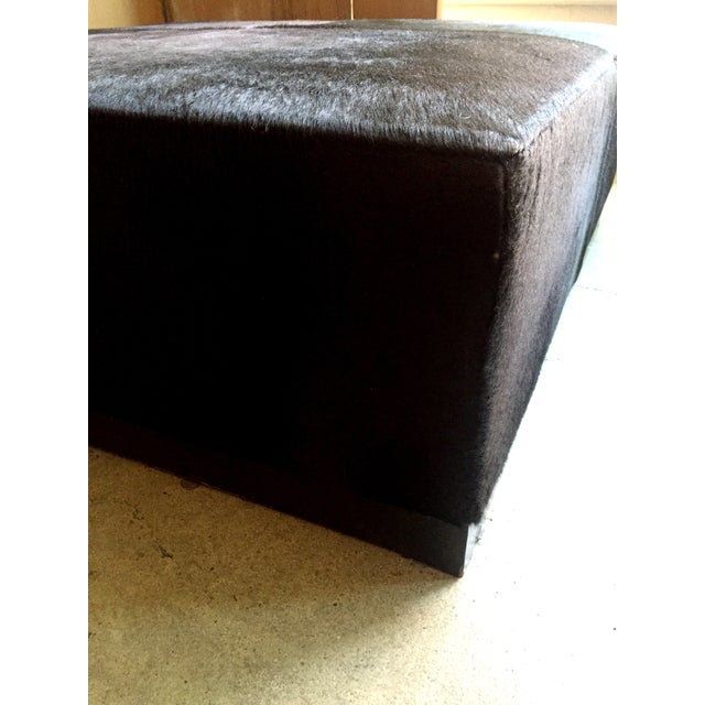 Cowhide Ottoman - Image 5 of 5