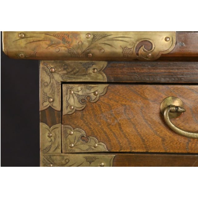 Petite Brass-Bound Chest - Image 4 of 4