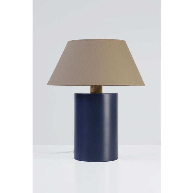 Bolet Midnight Blue & String Table Lamp - Small For Sale - Image 6 of 6