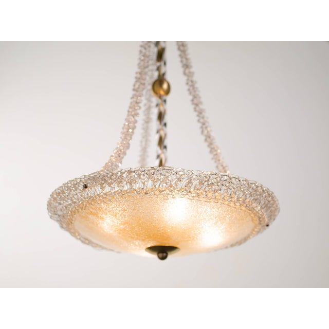 Murano Glass and Swarovski Crystal Chandelier For Sale In New York - Image 6 of 11