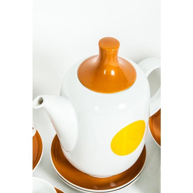 1970s Mid-Century Modern German Tea / Coffee Service - 18 Pc. Set For Sale - Image 5 of 10