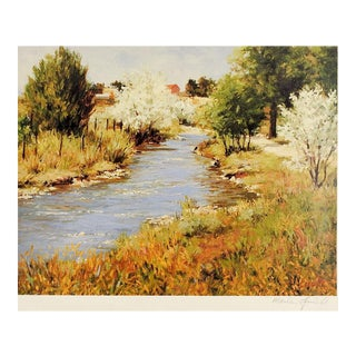 Landscape Print by Marlin Linville