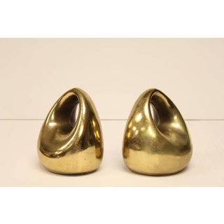 Mid-Century Ben Seibel Brass Bookends - A Pair Preview