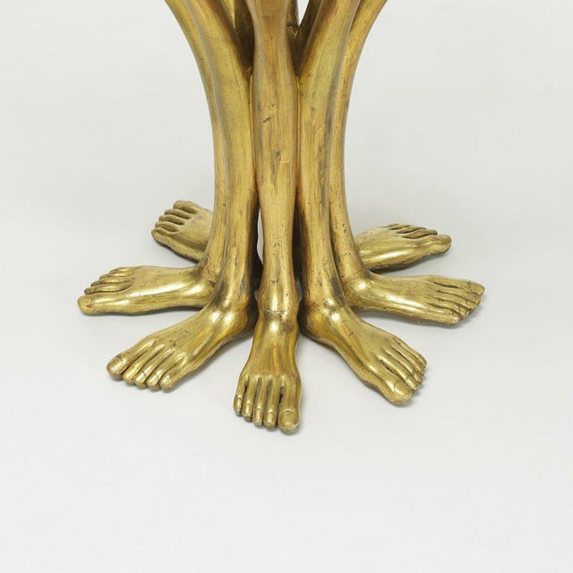 Mid-Century Modern Pedro Friedeberg Hand-Foot Side Table For Sale - Image 3 of 4