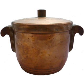 Art Deco Copper Ice Bucket