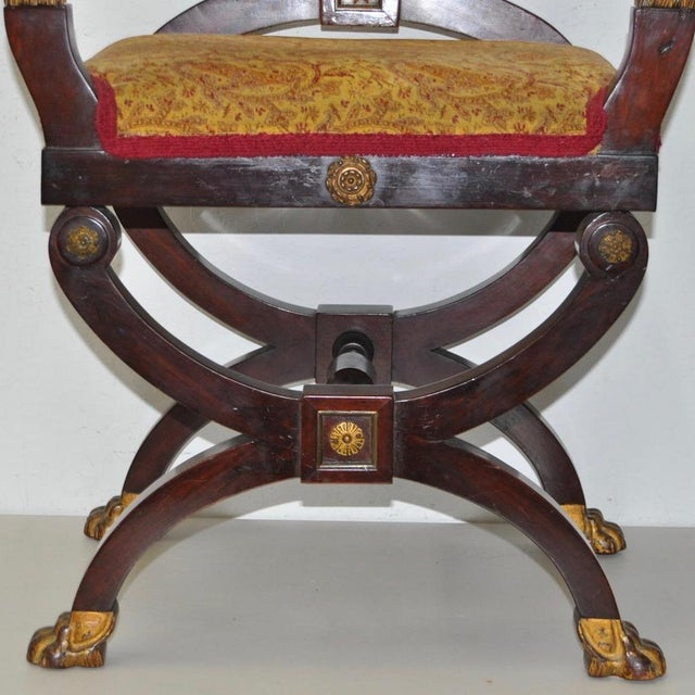 18th C. French Carved & Gilded Chair - Image 3 of 10