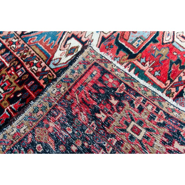 1920s Large Heriz Rug - 11′4″ × 14′1″ For Sale In Savannah - Image 6 of 11