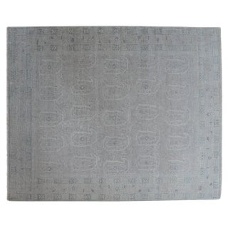 Stark Studio Rugs Traditional New Oriental Indian 70% Wool/30% Cotton Rug - 7′11″ × 9′10″ For Sale