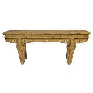 Antique Gansu Console Table For Sale