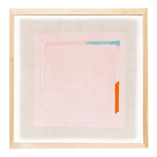 """Contemporary Pink 20"""" Print by Emily Keating Snyder, Framed For Sale"""