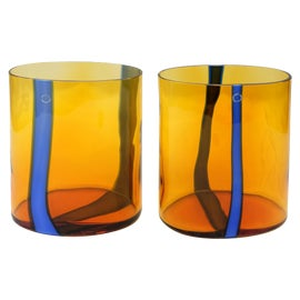Image of Orange Vessels and Vases