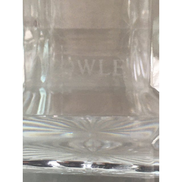 Hollywood Regency Towle Crystal Decanter For Sale - Image 3 of 7