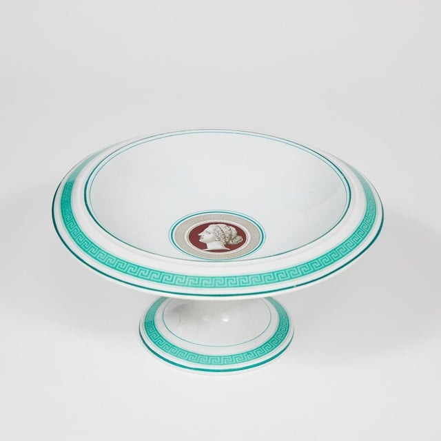 Porcelain Luncheon Serving Pieces From Late 19th Century Germany - Set of 10 For Sale In Los Angeles - Image 6 of 7