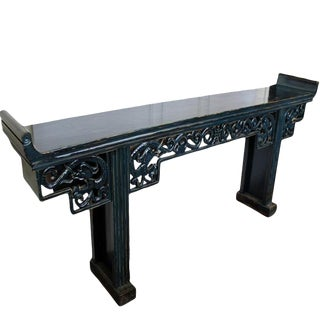 Dragon Altar Console Table For Sale