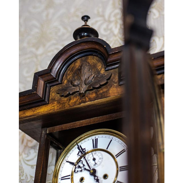 19th-Century Wall Clock For Sale - Image 9 of 13