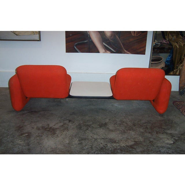 Mid-Century Modern Vintage Herman Miller Chiclet Loveseat Couch Sofa For Sale - Image 3 of 5