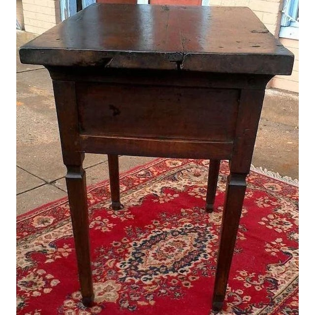 17th Century Spanish Walnut Campaign or Tavern Table For Sale - Image 6 of 11