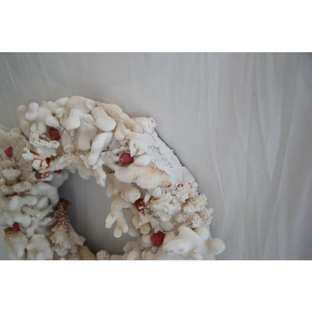 Hand Made Coral Wreath - Image 3 of 3