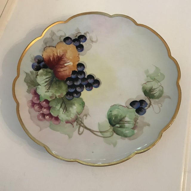 Early 20th Century Antique French Limoges Plate For Sale - Image 11 of 11