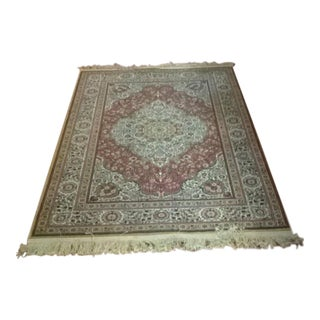 "Medallion Center Turkish Rug - 3'10"" x 6'1"""