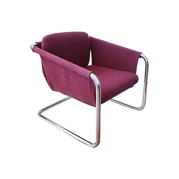 1980s Postmodern Cantilevered Chairs - A Pair - Image 8 of 10