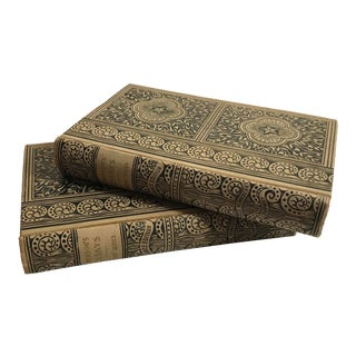 Antique Emerson's Essays Books - Set of 2 For Sale