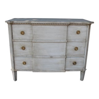 Early 20th Century Antique Gustavian Style Chest of Drawers For Sale