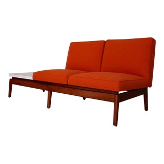 1950s Scandinavian Modern Sofa Tandem Bench For Sale