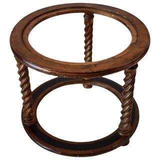 Vintage Side Table Base For Sale