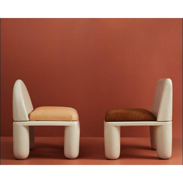 The chubby chair was created out of Miller's subconscious affinity for soft, round feeling objects. It encourages one to...