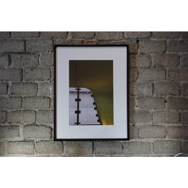 """A dreamy image of car lot architecture ... """"monoganashii"""" Artist proof, Archival Ink Jet Print, 9.21.14 Artists stamp and..."""