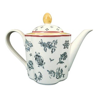 Villeroy & Boch Switch Plantation Discontinued Switch 5 Tea Pot For Sale