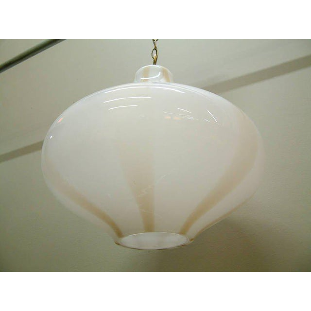 Vistosi Large Italian Pendant Fixture For Sale In Richmond - Image 6 of 8