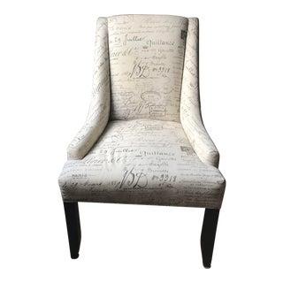 Ballard Designs Gramercy Chair In Document Fabric