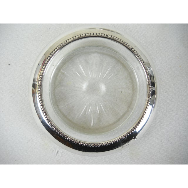 Whiting & Co. Sterling Silver Coasters - Set of 4 For Sale - Image 9 of 9