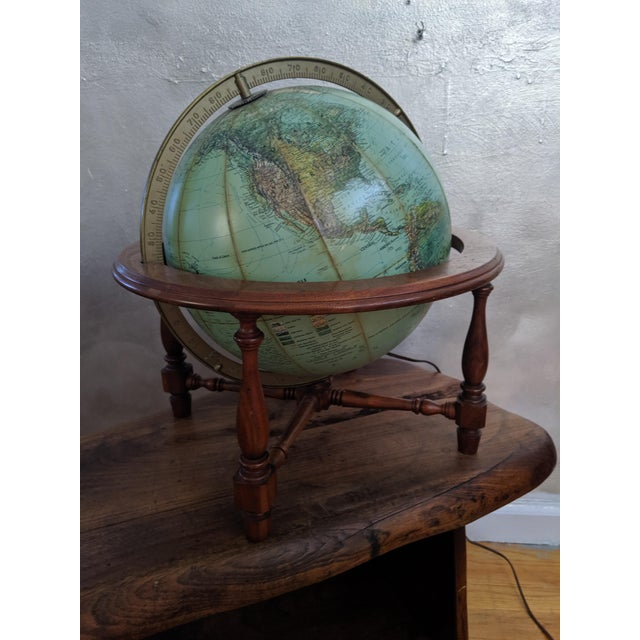 Mid Century Modern Reploge Globe Table Lamp For Sale In New York - Image 6 of 6