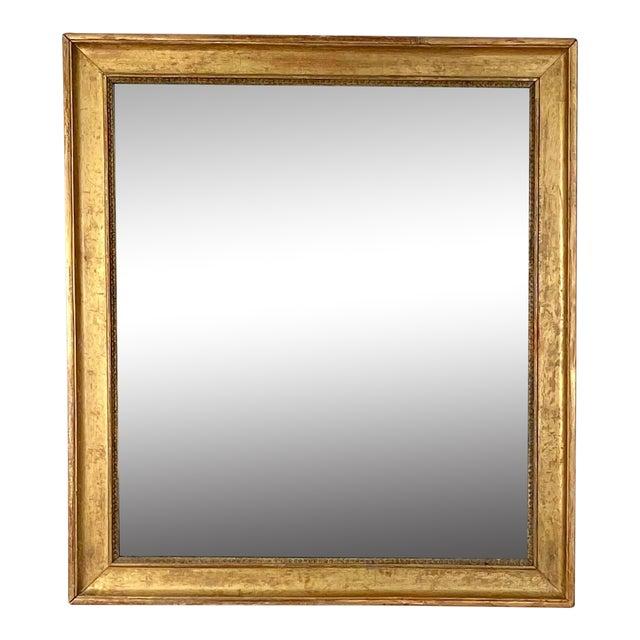 Gilt Wood Mirror France Circa 19th Century For Sale