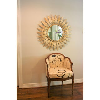 Large Scale Vintage French Sunburst Mirror Preview