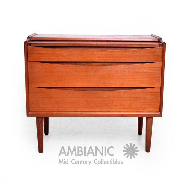 Arne Vodder Secretary Vanity Desk Dresser for Sibast - Image 6 of 10