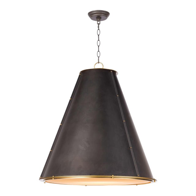 French Maid Chandelier Large in Black For Sale