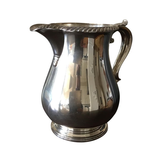 Gorham English Solid Sterling Silver Water Pitcher - Image 1 of 6