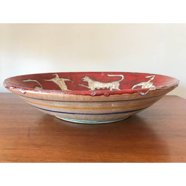 Eugenio Pattarino Ceramic Charger For Sale - Image 10 of 10