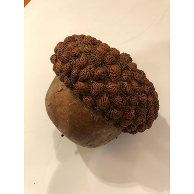 Arts & Crafts Organic Acorn Sculpture For Sale - Image 9 of 11