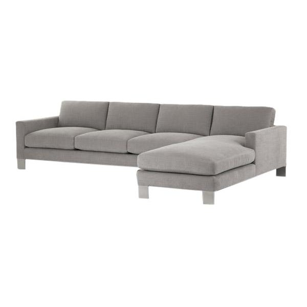 Not Yet Made - Made To Order Gray Spring Street Sectional For Sale - Image 5 of 5